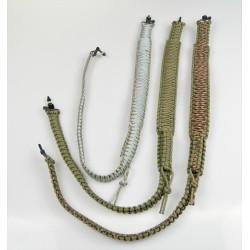Rifle sling cord handmade