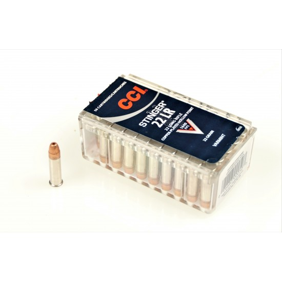 CCI Stinger .22lr Ammo
