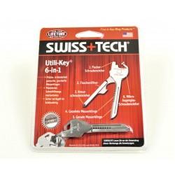 Key ring tool 6-in-1