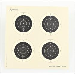 Target cards 14cm 4 fold