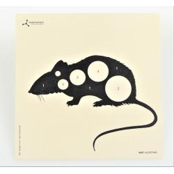 Target cards 14cm Rat