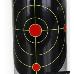 Splatter targets on roll