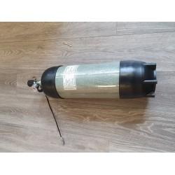 Lightweight full carbon air tank 9 liter 300 bar