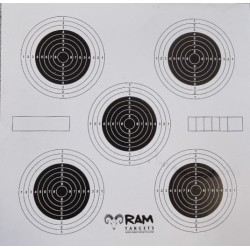 Target 14cm five fold