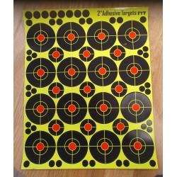 Splatter targets 16 fold