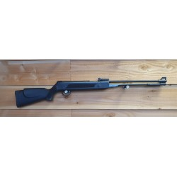 Cocking lever rifle black